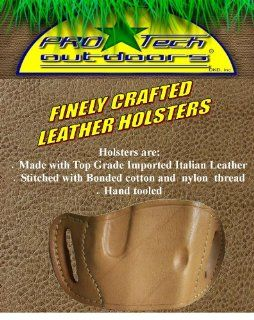 Tan Leather Beltslide Gun Holster for Para Ordnance Carry