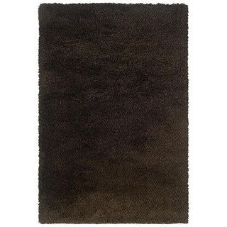 Manhattan Tweed Brown/ Black Shag Rug (710 x 112)