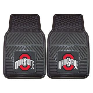 Fanmats Ohio State 2 piece Vinyl Car Mats