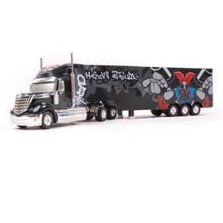 camion semi remorque 132 us noir mini rc camions achat vente. Black Bedroom Furniture Sets. Home Design Ideas