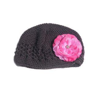 Bow Clippeez 2 Envy Boutique Crochet Flower Hat