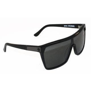Spy Optic Mens Flynn Matte Black Oversized Sunglasses