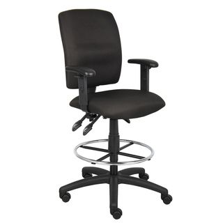 Boss Multi Function Drafting Stool with Adjustable Arms