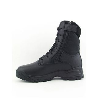 11 TACTICAL Mens A.T.A.C. 8 Side Zip Black Boots (Size 9.5