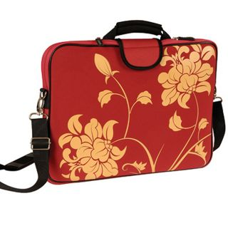 Fuji Depot Red Blossom 15.6 inch Laptop Sleeve
