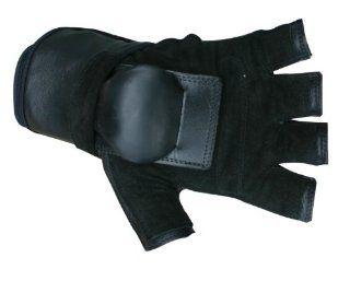 Hillbilly Wrist Guard Gloves   Half Finger: Sports