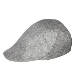 Unisex Tweed Country Style Fitted Newsboy / Paperboy Cap