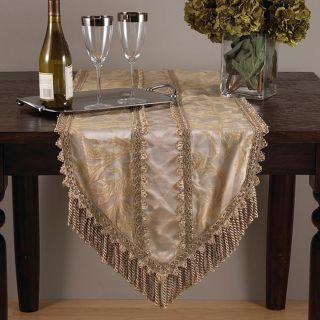 Champagne Hexagon Table Runner 16 in. x90 in