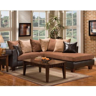 Enitial Lab Leatherette Sectional Sofa