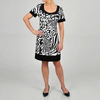 Tiana B Multi Animal Printed Dress