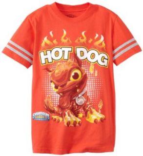 Skylanders Boys 8 20 Skylander Hot Dog Short Sleeve Tee