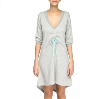 55DSL By DIESEL Robe Doomed Femme Gris chiné   Achat / Vente ROBE