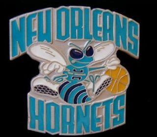 New Orleans Hornets Logo Belt Buckle Clothing