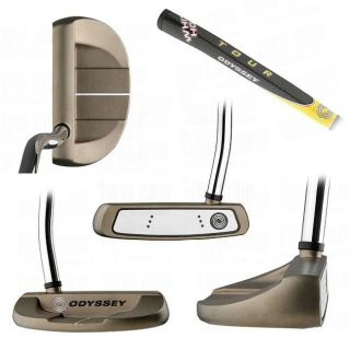Odyssey Mens White Hot Tour #5 Mallet Putter