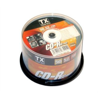 TX CDR 52x   Achat / Vente CD   DVD   BLU RAY VIERGE TX CDR 52x