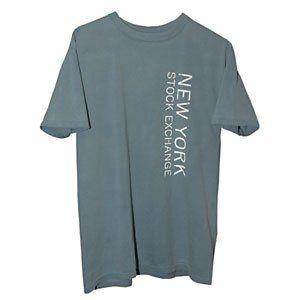 New York Stock Exchange T Shirt Vertical Logo Clothing