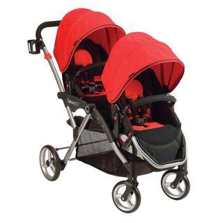 Contours Options LT Tandem Stroller in Crimson