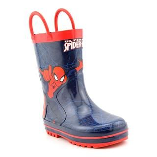 Marvel Spider Man Boys Web Splash Rainboots Rubber Boots
