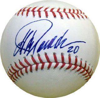 Jorge Posada Autographed Baseball (Steiner)   New York