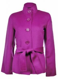 Sutton Studio Womens Cashmere Blend Flare Sleeve Jacket