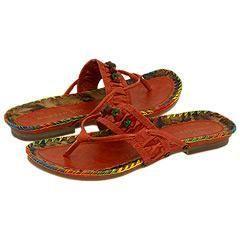 Madden Girl Tribal Orange Paris Sandals