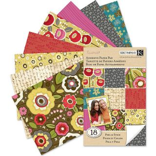 / Stick Cara Marie Adhesive Paper Sheets (Pack of 18)