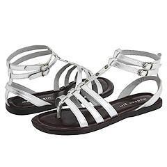Madden Girl Sicilly Silver Metallic Sandals