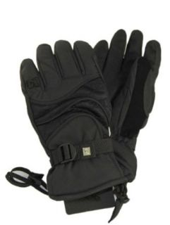 DC Gauntlet II Mens Black Snowboard Gloves SZ S Clothing