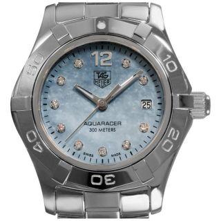 Tag Heuer Aquaracer Womens Stainless Steel Diamond Watch