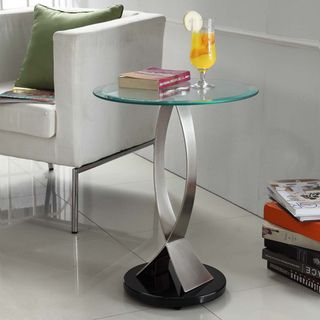 ETHAN HOME Ryde Round Shape End Table