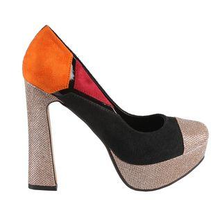 Machi by Beston Womens Candies 5 Chunky Heel