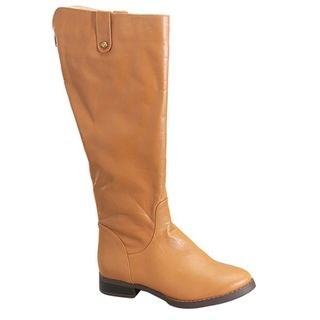 Fahrenheit Womens Rooney 03 Taupe Riding Boots