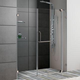 Vigo 60 inch Frameless Clear Shower Door
