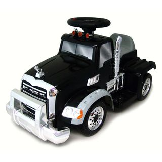 New Star 6 Volt Ride On Mack Truck with Trailer