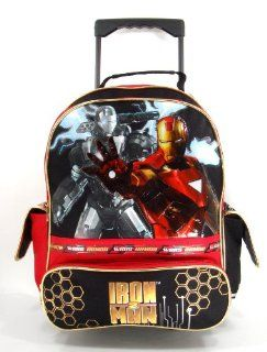 Iron Man 2   War Machine   15 Large Rolling Backpack Shoes