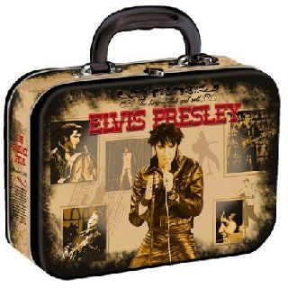 Elvis Presley King of Rock & Roll Large Lunch Box *SALE