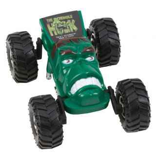 Marvel Regener8r 164 Scale Hulk Head Toy Car