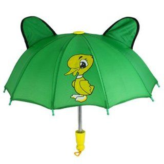 Como Children 8 Metal Ribs Cartoon Duck Pattern Mini Green