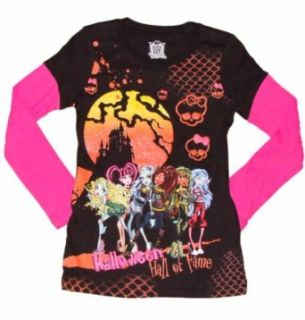 Monster High Hall of Fame Girls Long Sleeved Shirt (XL (14