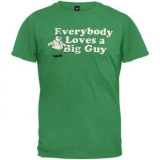 Family Guy   Loves Big Guy T Shirt   Large Clothing
