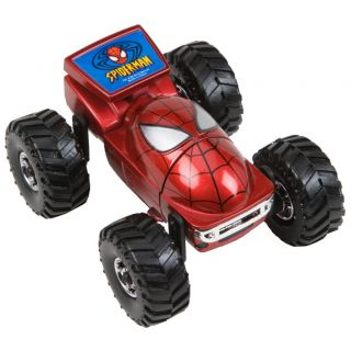 Marvel Regener8r 164 Scale Spiderman Head Toy Car