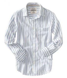 Aeropostale Mens Button Front Button Down Shirt   Bleach