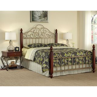 Home Styles St. Ives Queen size Bed and Two End Tables Set
