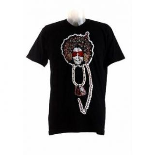 Hard 8 Mens Short Sleeve Afro Man Tee Shirt (X Large