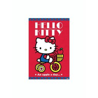 POSTER HELLO KITTY AN APPLE A DAY 61 x 91,5 cm   Achat / Vente TABLEAU