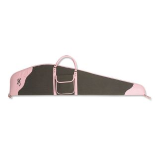 Pink/Brown Birch Creek Scoped 48 inch Flex Gun Case