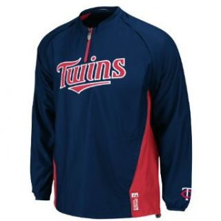 MLB Minnesota Twins Long Sleeve Lightweight 1/4 Zip Gamer
