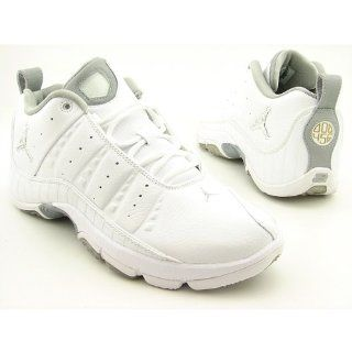 CLUTCH LOW MENS TRAINING SHOES 12 (WHITE/MET SILVER MET GOLD) Shoes