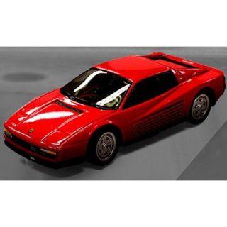 SABLON   Mini Ferrari Testarossa   Echelle 1/58  Rouge Ce superbe