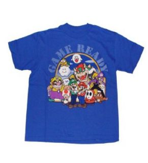Super Mario Character Game Ready Boys T Shirt (X Large (18